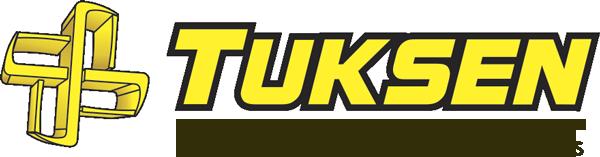 Logotipo da empresa Tuksen – Venda de Container Desmontável e Modular para Organização e Ampliação